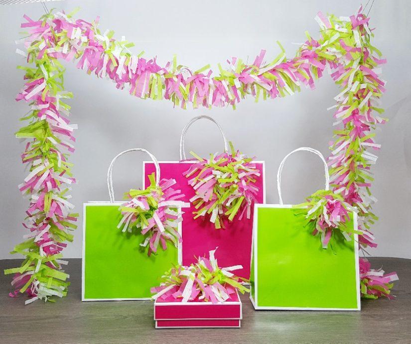 tissue paper cactus