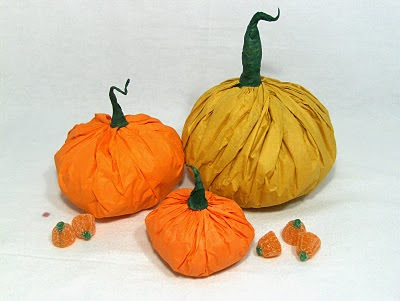 Tissue Pumpkins