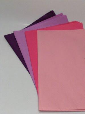 Tissue paper flower supplies