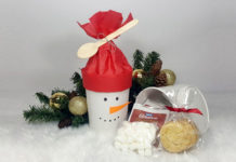 Snowman Cookie Container 19