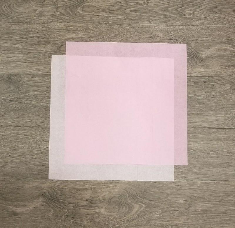 tissue paper carnation