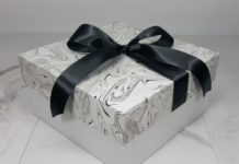 White 2 piece gift boxes