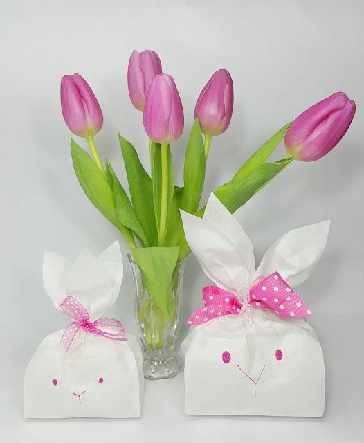 diy easter bunny treat bags