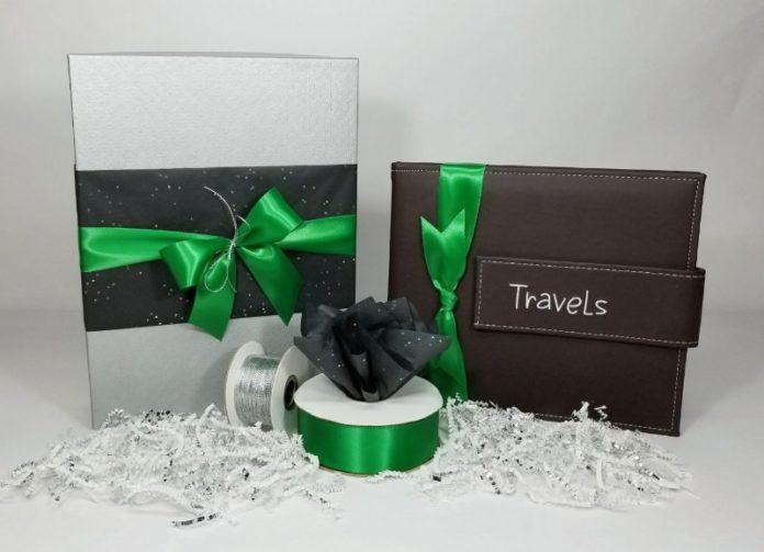 gift wrap an album