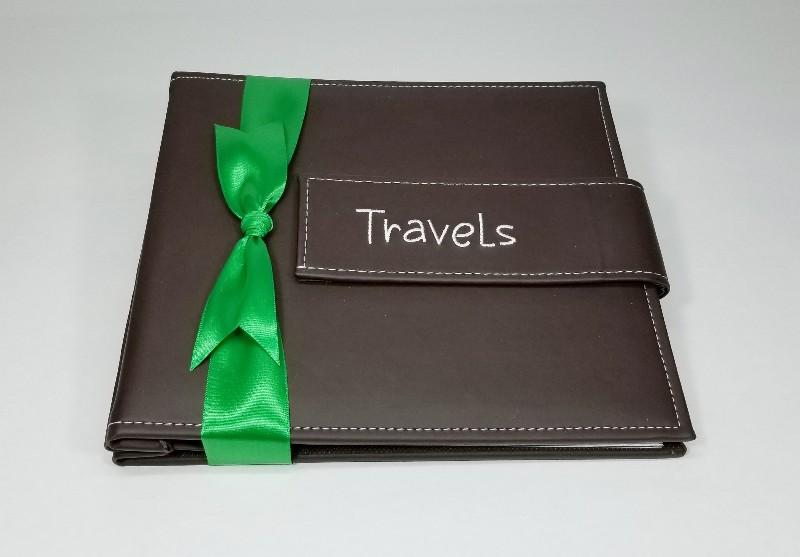 gift wrap a photo album